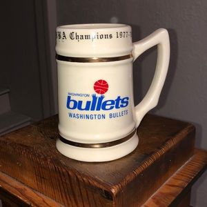 Washington Bullets Vintage Stein Mug